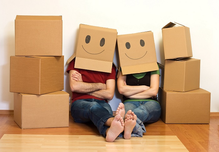 Happy movers, moving, moving tips