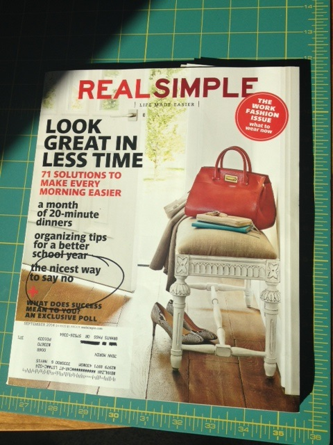 Real simple cover