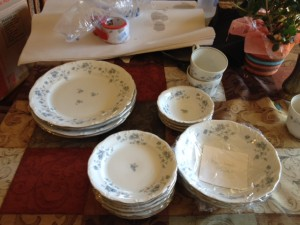 packing china, downsizing