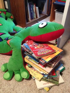 Book donation n Tizzard toy